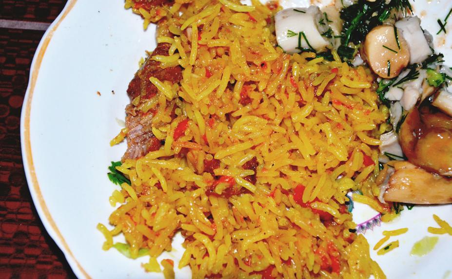 Ароматный рис с баран