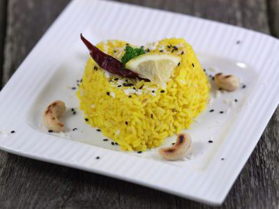 Лимонный рис