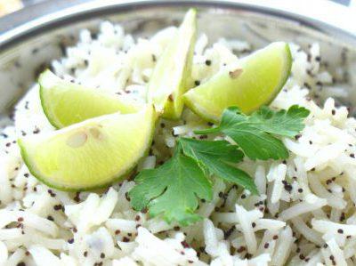 Рис в крапинку