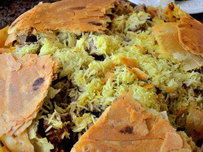 Рецепт риса басмати с мясом